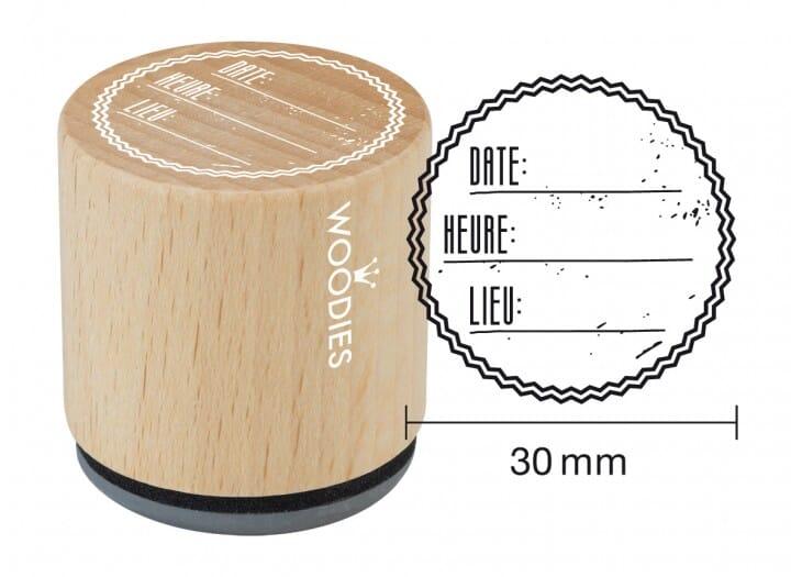 Woodies tampon Date - heure - lieu