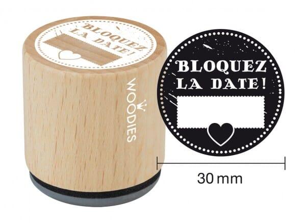 Woodies tampon Bloquez la date