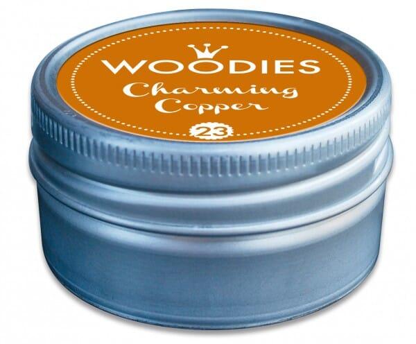 Woodies tampon encreur Charming Copper