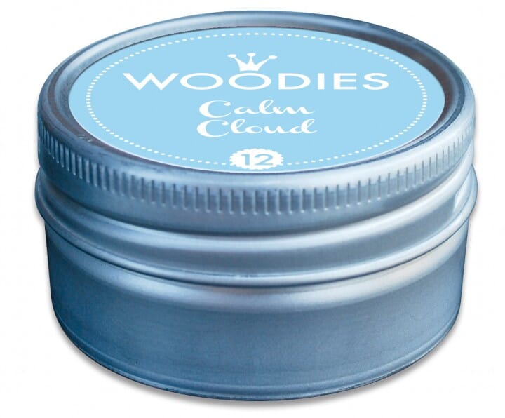 Woodies tampon encreur Calm Cloud