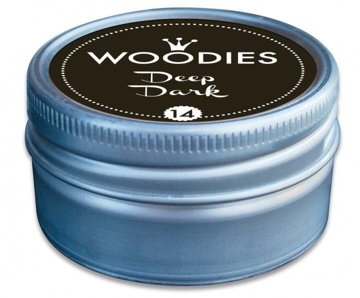 Woodies tampon encreur Deep Dark