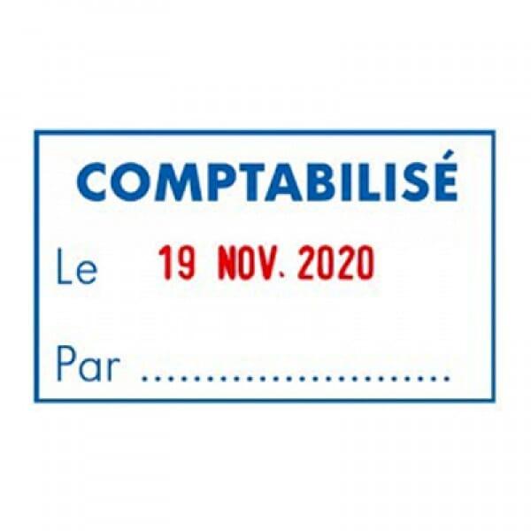 """Trodat Metal Line dateur 5460L7 """"Comptabilisé le Par…"""""""