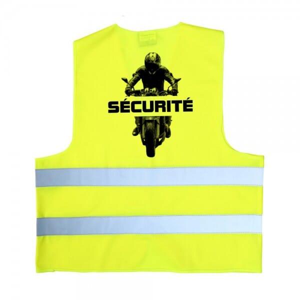 Gilet de sécurité - jaune
