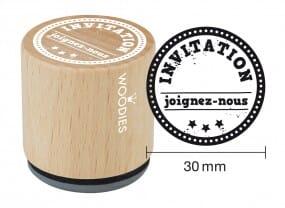 Woodies tampon Invitation - joignez-nous