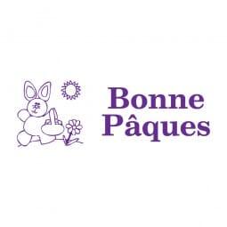 Trodat Printy 4911 Tampon formule - Bonne Pâques