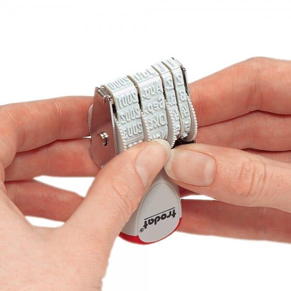 Trodat dateur à encrage séparé - ISO 4mm 1014