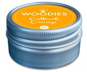 Woodies tampon encreur Outback Orange