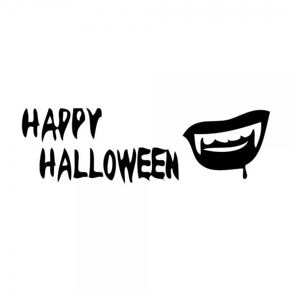 Trodat Printy 4911 Tampon formule Happy Halloween- Teeth