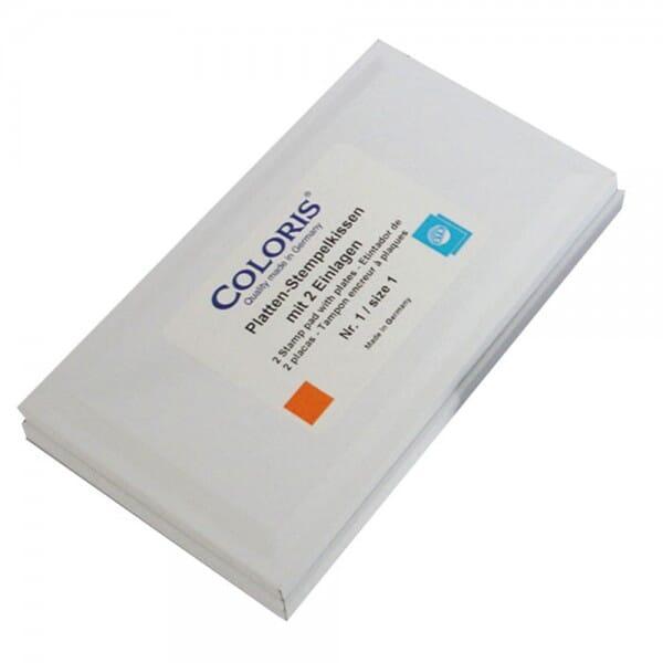 Coloris tampon encreur pour encres spéciales 9058