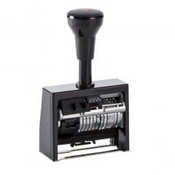 Folioteur dateur Reiner cage plastique - 6 chiffres