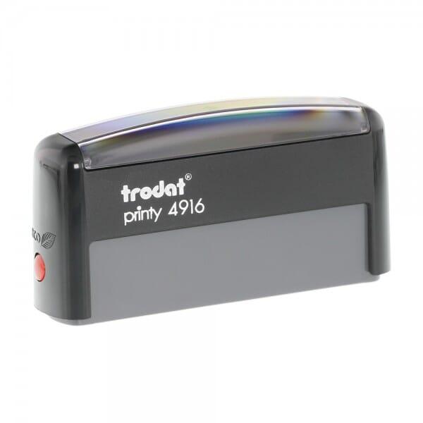 Trodat Printy 4916 70x10 mm / 1 à 2 lignes