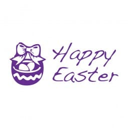 Trodat Printy 4911 Tampon formule Happy Easter- Basket