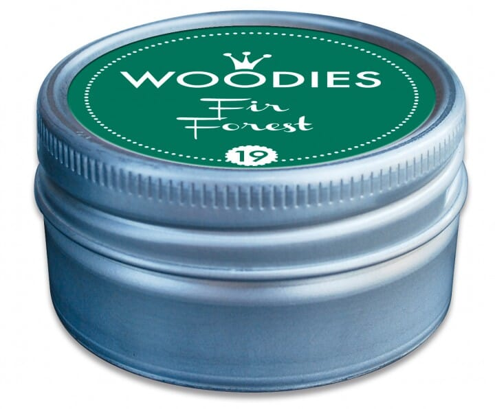 Woodies tampon encreur Fir Forest