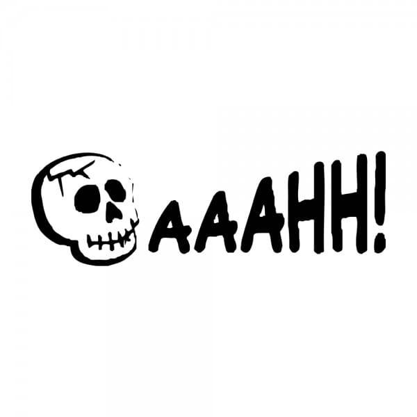Trodat Printy 4911 Tampon formule Halloween- Aaahh!