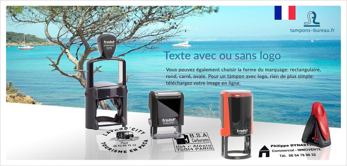 http://www.tampons-bureau.fr/personnalises/texte-avec-ou-sans-logo/